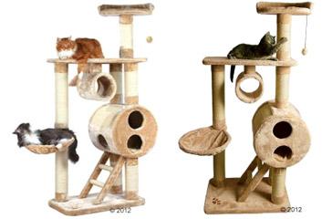 arbres chat originaux et design pour le bonheur de vos animaux. Black Bedroom Furniture Sets. Home Design Ideas