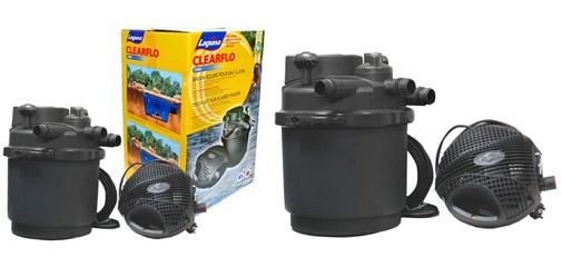 St rilisateur kit de filtration ampoules pour for Kit bassin exterieur