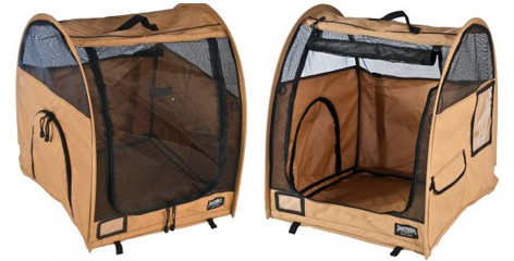 Niche portative sac de transport niche pliable pour le bonheur de vos animaux - Niche pliable pour chien ...