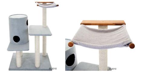 arbres chat haut de gamme en bois massif et feuillu. Black Bedroom Furniture Sets. Home Design Ideas
