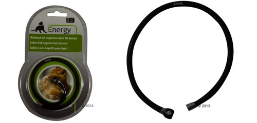 Collier iEnergy pour chat