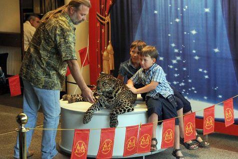 En Russie, on brave les animaux sauvages avec insouciance