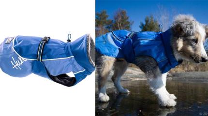 Manteau d'hiver HURTTA bleu pour chien