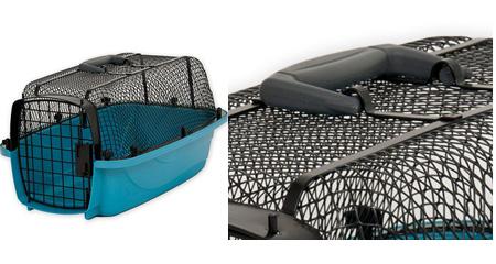 Caisse de transport panoramique pour chiens
