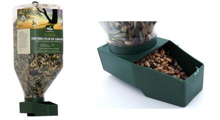 Distributeur de graines pour oiseau du ciel Plum