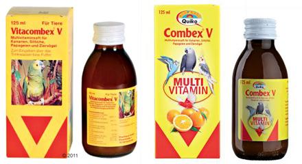 Complément alimentaire pour oiseaux Combex V