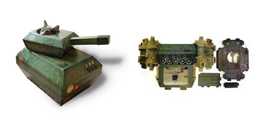 Aire de jeu Char Militaire