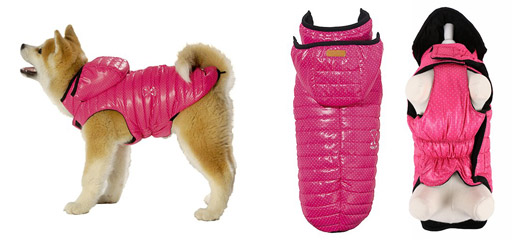 Manteau pour chien Arrow rose