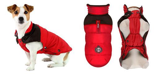 Manteau pour chien Himalaya Red