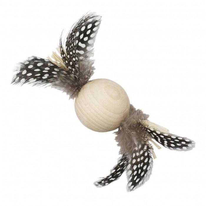 Balle à plumes Natural