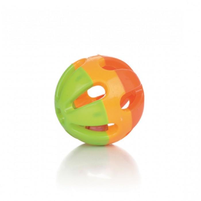 Balle plastique à grelot