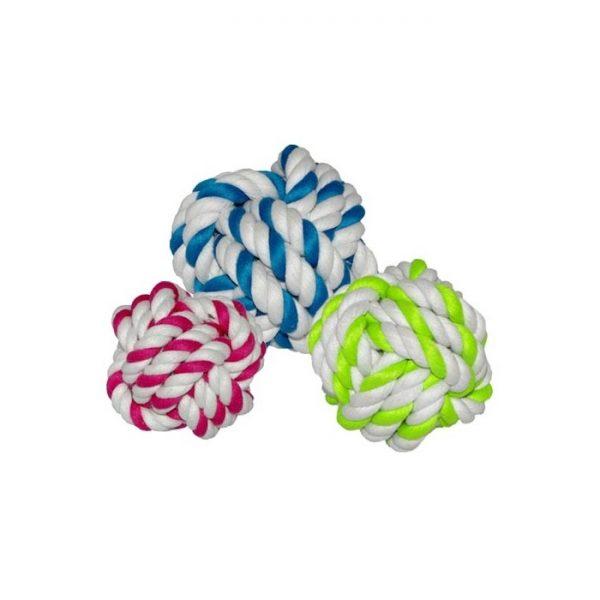 Balles tressées en cordes