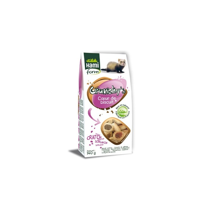 Biscuits gourmands pour furet