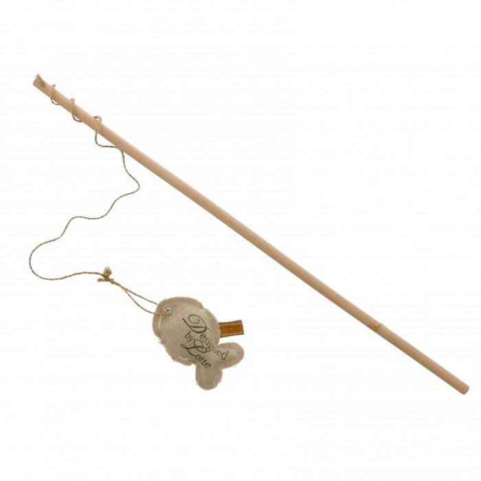 Canne à pêche en bois