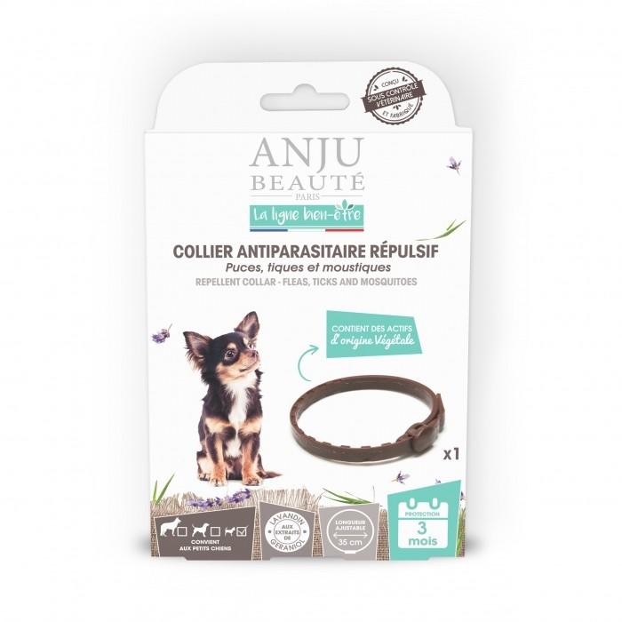 Collier antiparasitaire répulsif chien