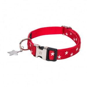 Collier Star Rouge