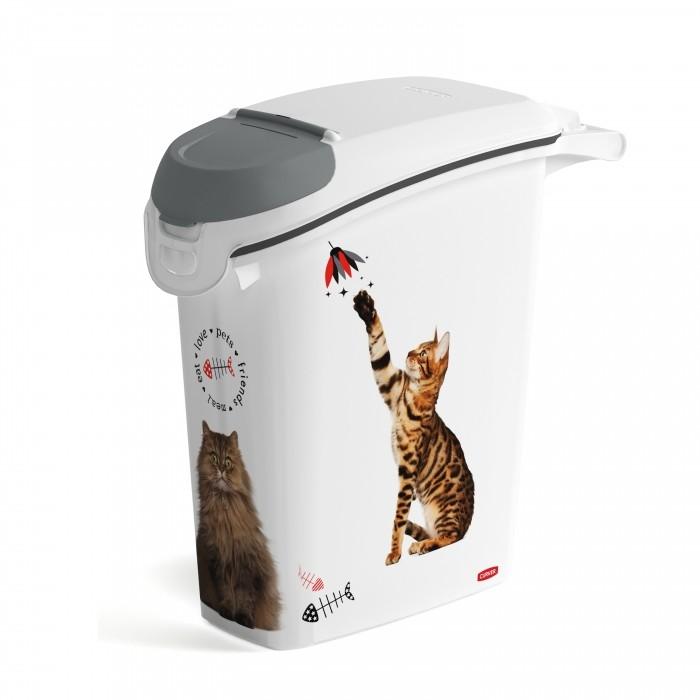 Conteneur à croquettes Love Cats avec bec verseur