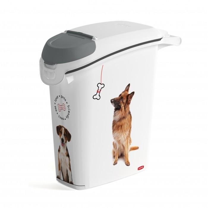 Conteneur à croquettes Love Dogs avec bec verseur