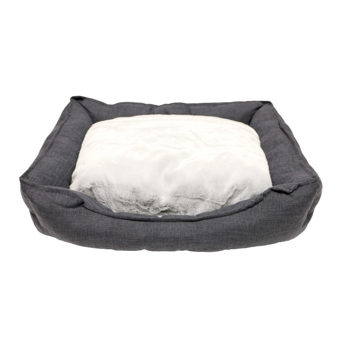 Corbeille Cosy Life Dark Grey