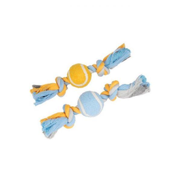 Cordes à noeuds avec balle de tennis