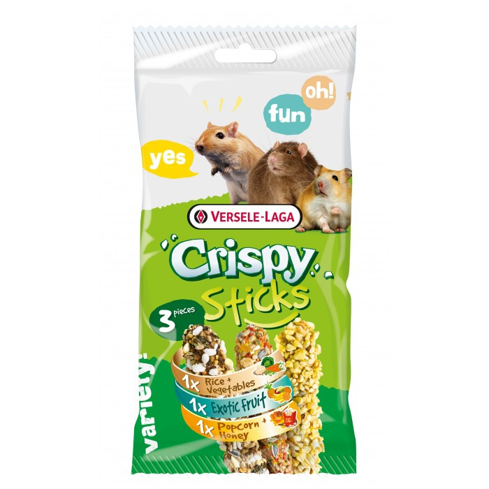 Crispy Sticks Rongeurs Omnivores