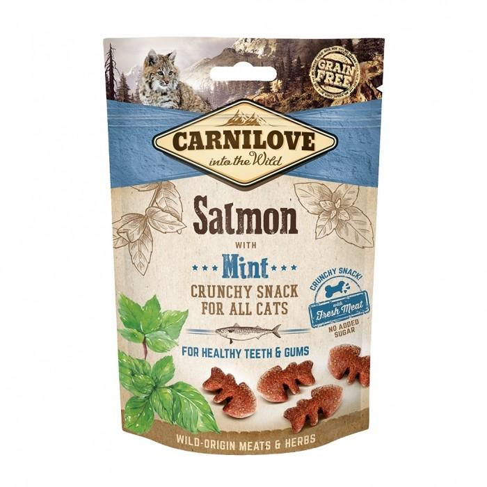 Crunchy Snack - Saumon et menthe