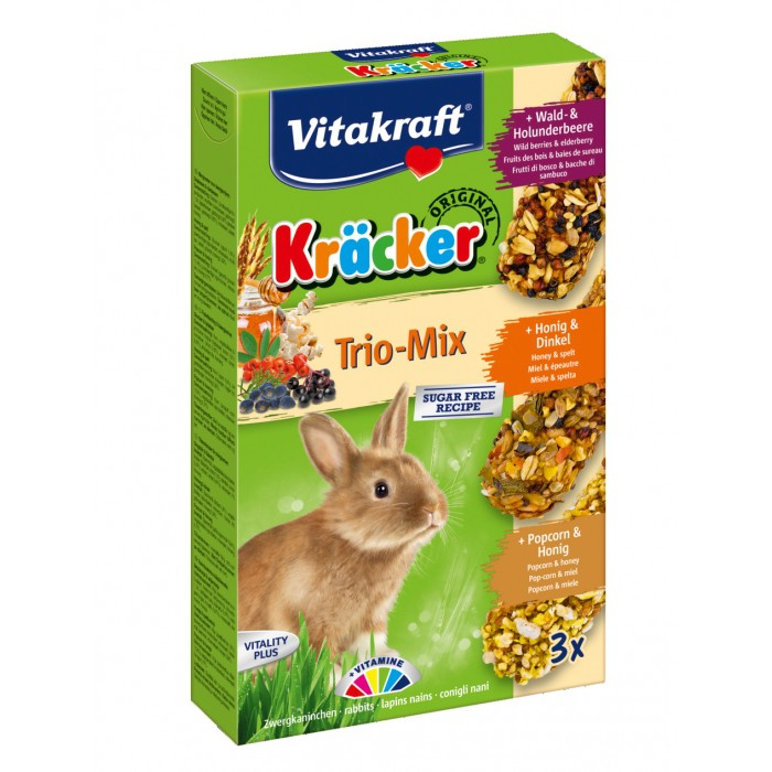 Kräcker Trio-Mix lapins nains