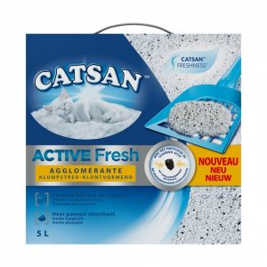 Litière Catsan® Active Fresh