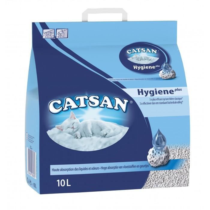 Litière Catsan® Hygiène Plus