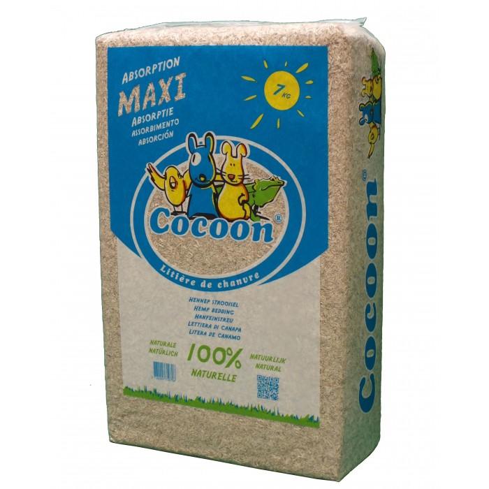 Litière de chanvre Cocoon