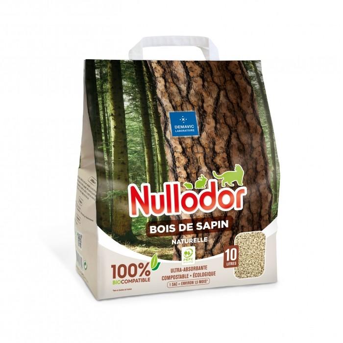 Litière 100% naturelle - Bois de sapin