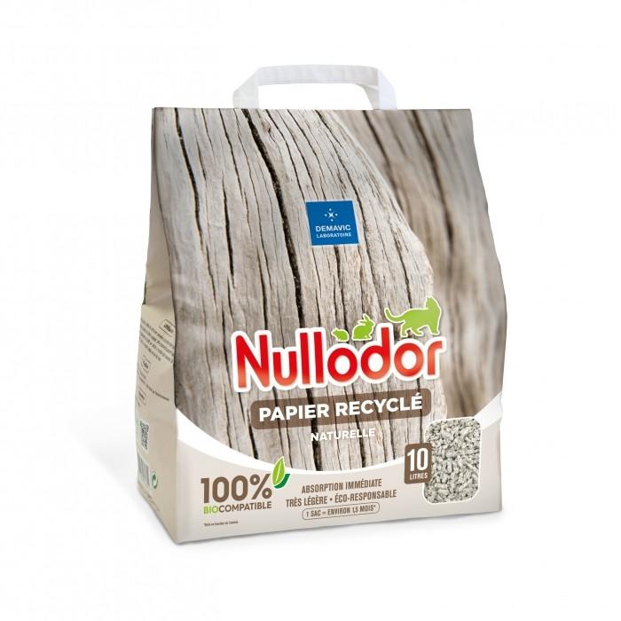 Litière 100% naturelle papier