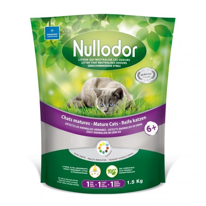 Litière Nullodor chats matures 6+