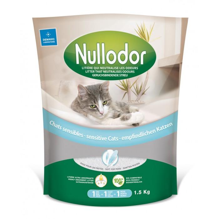 Litière Nullodor chats sensibles