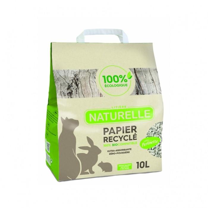 Litière Perlinette - Papier recyclé