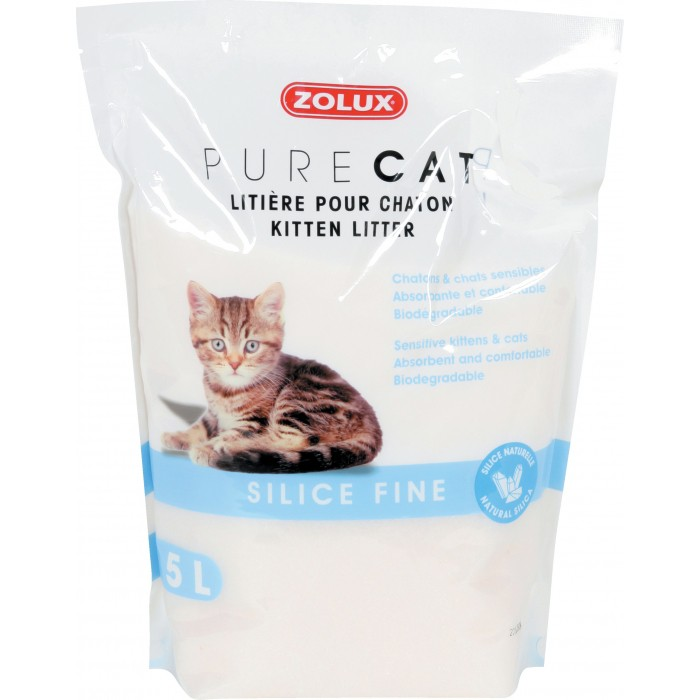 Litière Pure Cat Silice fine