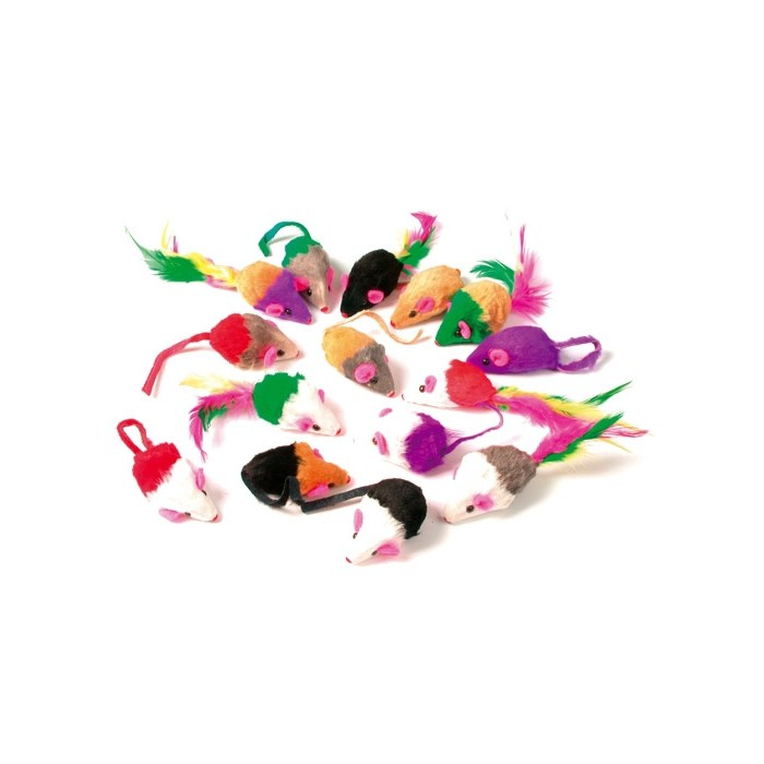 Lot de 24 souris Multicolores