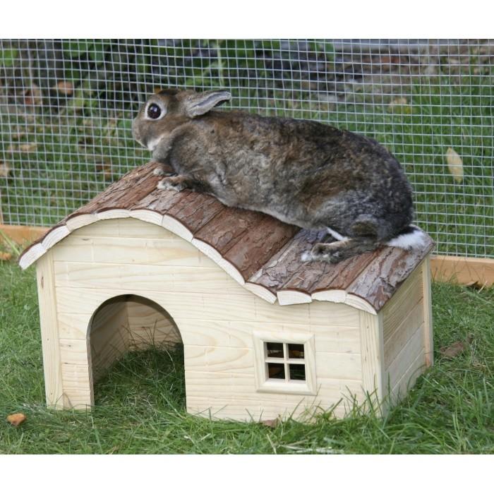 Maison avec toit ondulé Nature