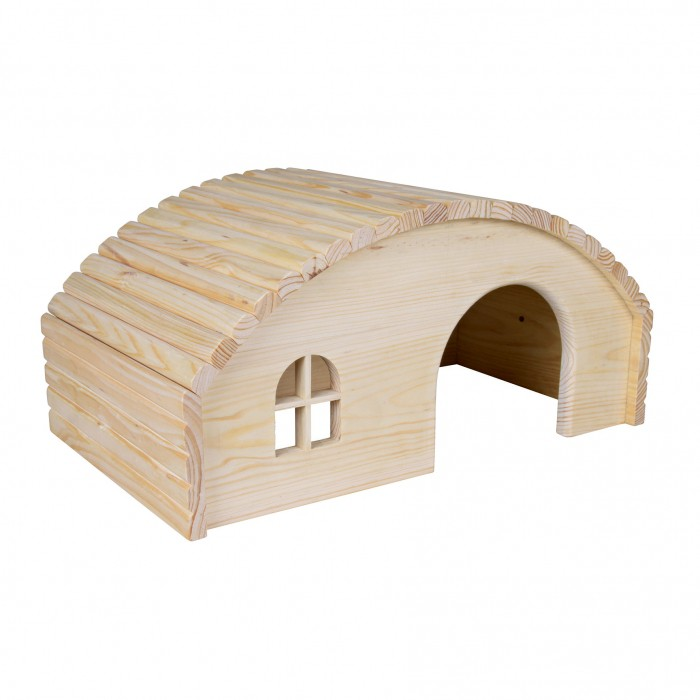 Maison Hobbit en bois