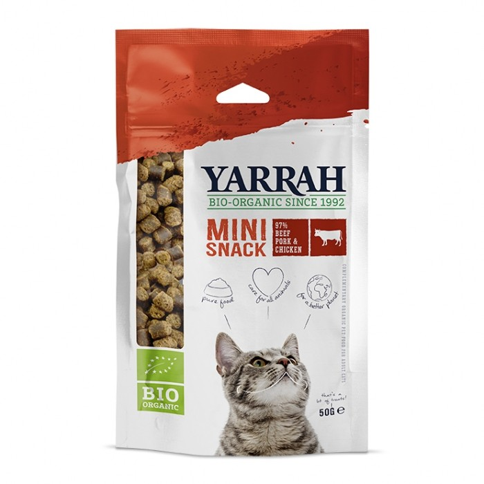 Mini snack biologique