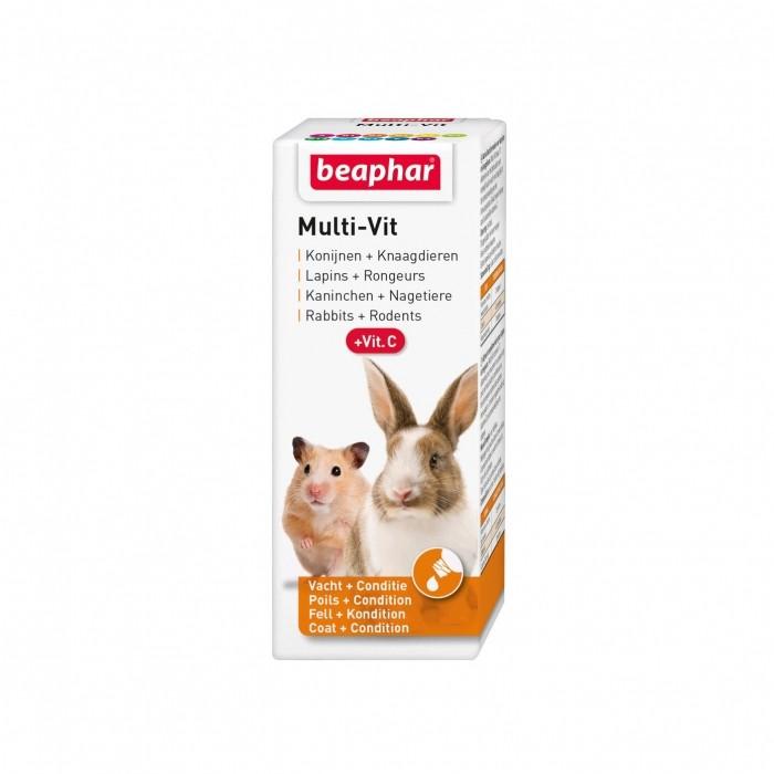 MULTI-VIT, vitamines pour rongeurs et lapins