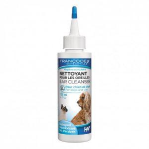 Nettoyant pour les oreilles chiens & chats