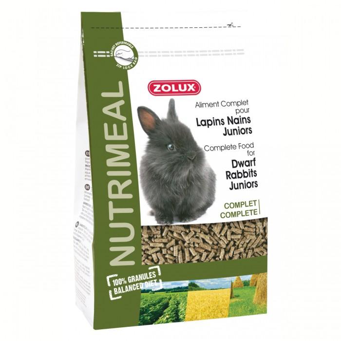 Nutrimeal granulés lapins nains juniors
