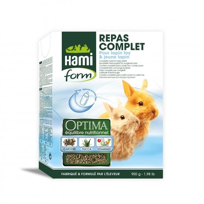 Optima pour jeunes lapin
