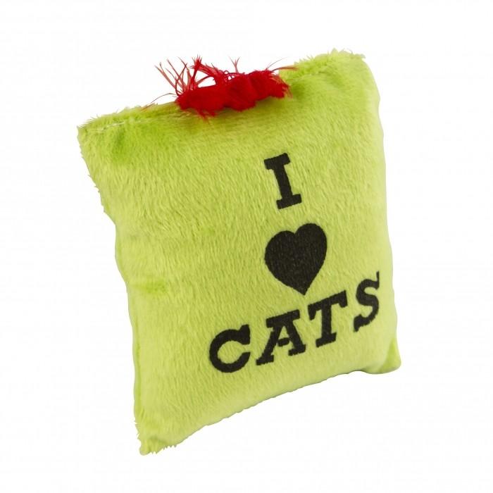 Peluche pochette au CatNip