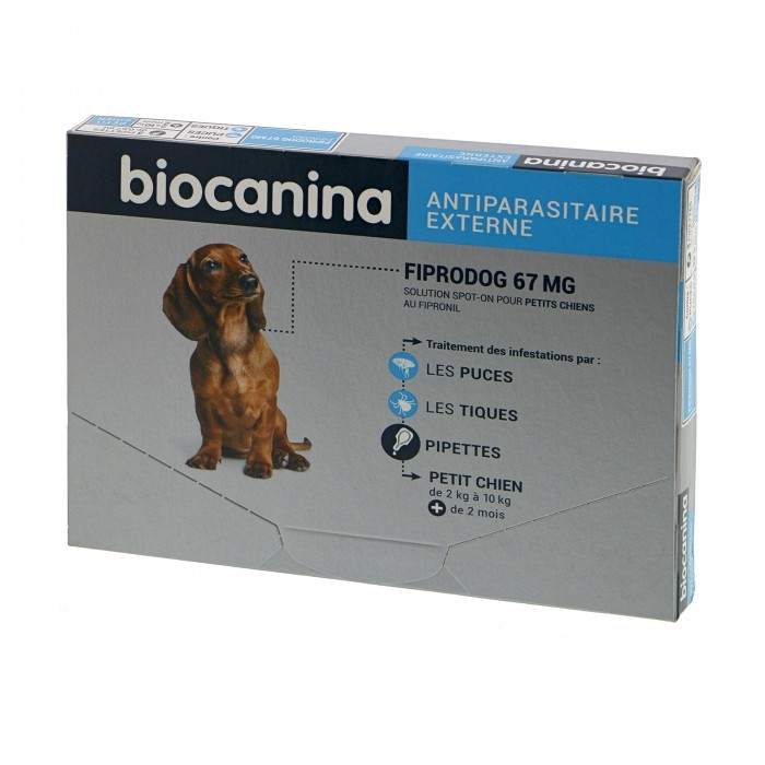Pipettes Fiprodog Spot-On