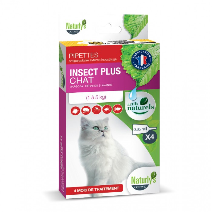 Pipettes Insect Plus Chat