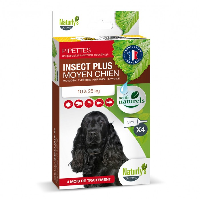Pipettes Insect Plus Chien