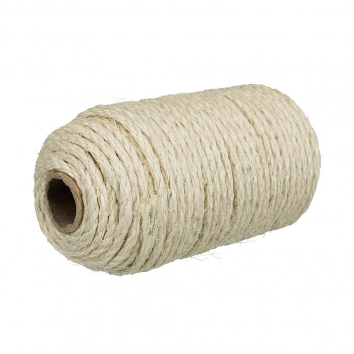 Rouleau de corde en sisal