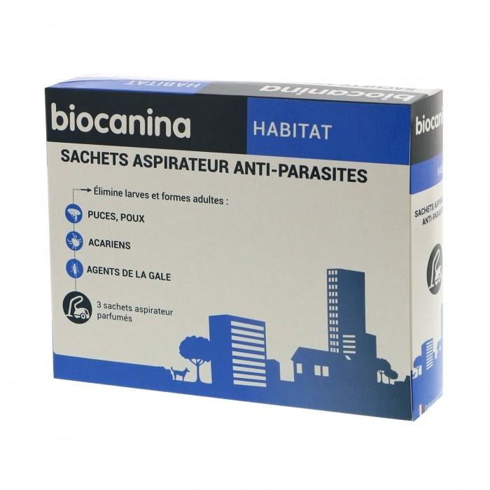 Sachets aspirateur anti-parasites